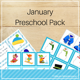 January Preschool Pack