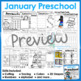 January Preschool Printables