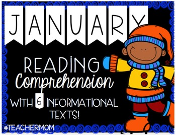 January Primary Informational (Non-Fiction) Text Pack {#TeacherMom}