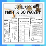 January Print-and-Go Packet