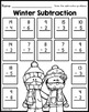 January Printables - Math and Literacy Packet for First Grade