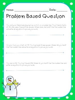 January Problem Based Question- Problem Solving
