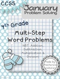 January Problem Solvers: Winter Word Problems