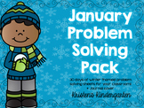 January Problem Solving Pack