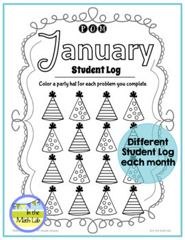 January Problems of the Month (POM) Math Pack - 3rd Grade