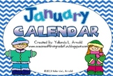 January Promeathean Board Calendar