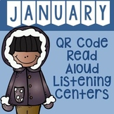 January QR Code Read Aloud Listening Centers