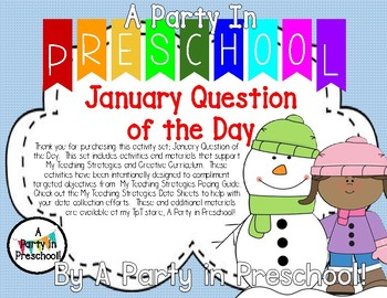 January Question of the Day Based on My Teaching Strategies