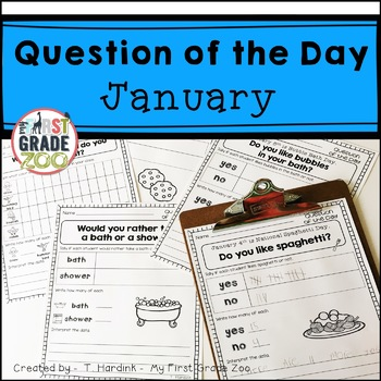 January - Question of the Day Graphing