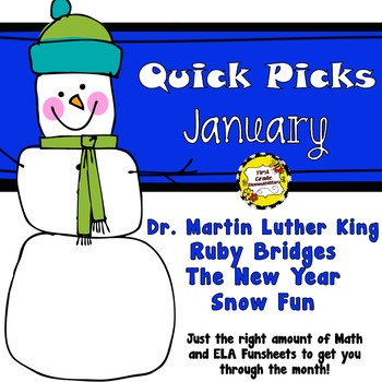 January Quick Picks: Budget-Friendly ELA and Math Funsheets