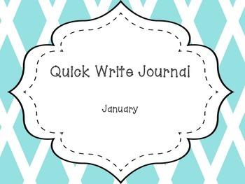 January Quick Write Journal