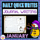 January Quick Writes (Daily Journal Writing Prompts)