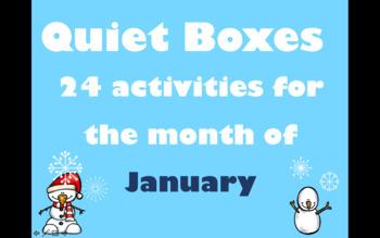 January Quiet Boxes