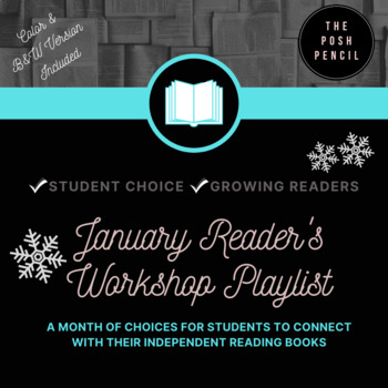 January Reader's Workshop Playlist