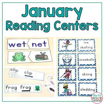 January Reading Centers
