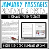 Leveled Text: January Reading Passages