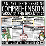 January Reading Comprehension Passages 4th Grade, 3rd Grade & 5th Grade