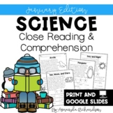 January Reading Comprehension Passages and Questions for C