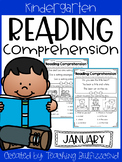 January Reading Comprehension Read and Match
