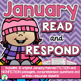 January Reading Comprehension & Written Response
