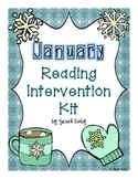 January Reading Intervention Kit