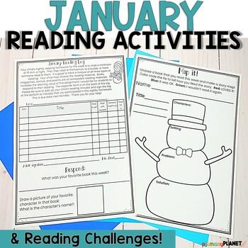 January Reading Logs | Reading Response | Reading Challenge