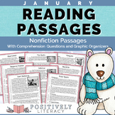 January Reading Passages Nonfiction Text & Comprehension