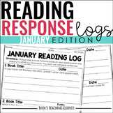 January Reading Response Logs (Grade 3)