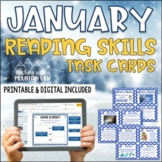 January Reading Skills and Enrichment Task Cards *Aligned to Common Core*