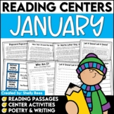 Reading Comprehension Passages and Questions - January Reading Unit