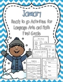 January Ready to Print Activities (Grade 1)
