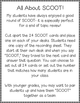 January Review {1st Grade Math Word Problems}