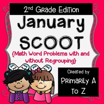 January Review {2nd Grade Math Word Problems}