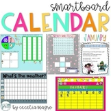 January SMARTBoard Calendar Morning Meeting