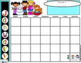 January SMARTboard Calendar