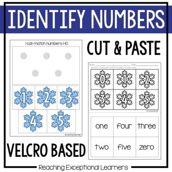 January SPED Math Adapted Workbook