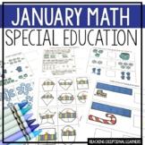 January Math Adapted Binder