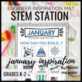 January STEM Activities | Engineer Inspiration | Printable