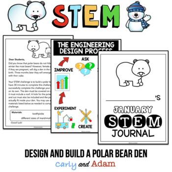January STEM Activity: Build a Polar Bear Den
