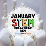 January Winter STEM Activity: Build a Polar Bear Den