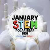 Build a Polar Bear Den January Winter STEM Activity