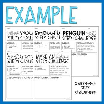 January / STEM Challenges