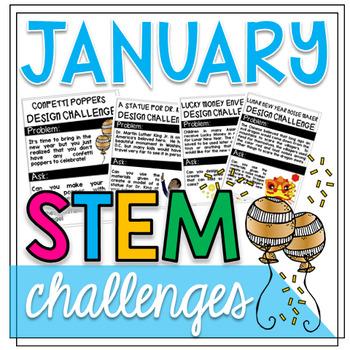 January STEM Challenges