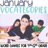 January Scattergories