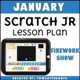 January Scratch Jr Programming Lesson Plan - Firework Show