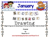 January Secret Code Drawing Center