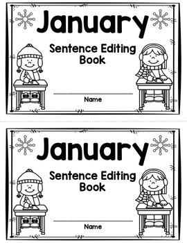 January Sentence Editing