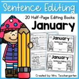 Sentence Editing - January