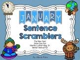 January Sentence Scramblers