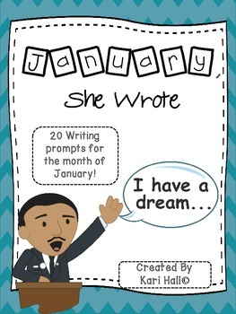 January, She Wrote! My January Writing Journal {20 Prompts}